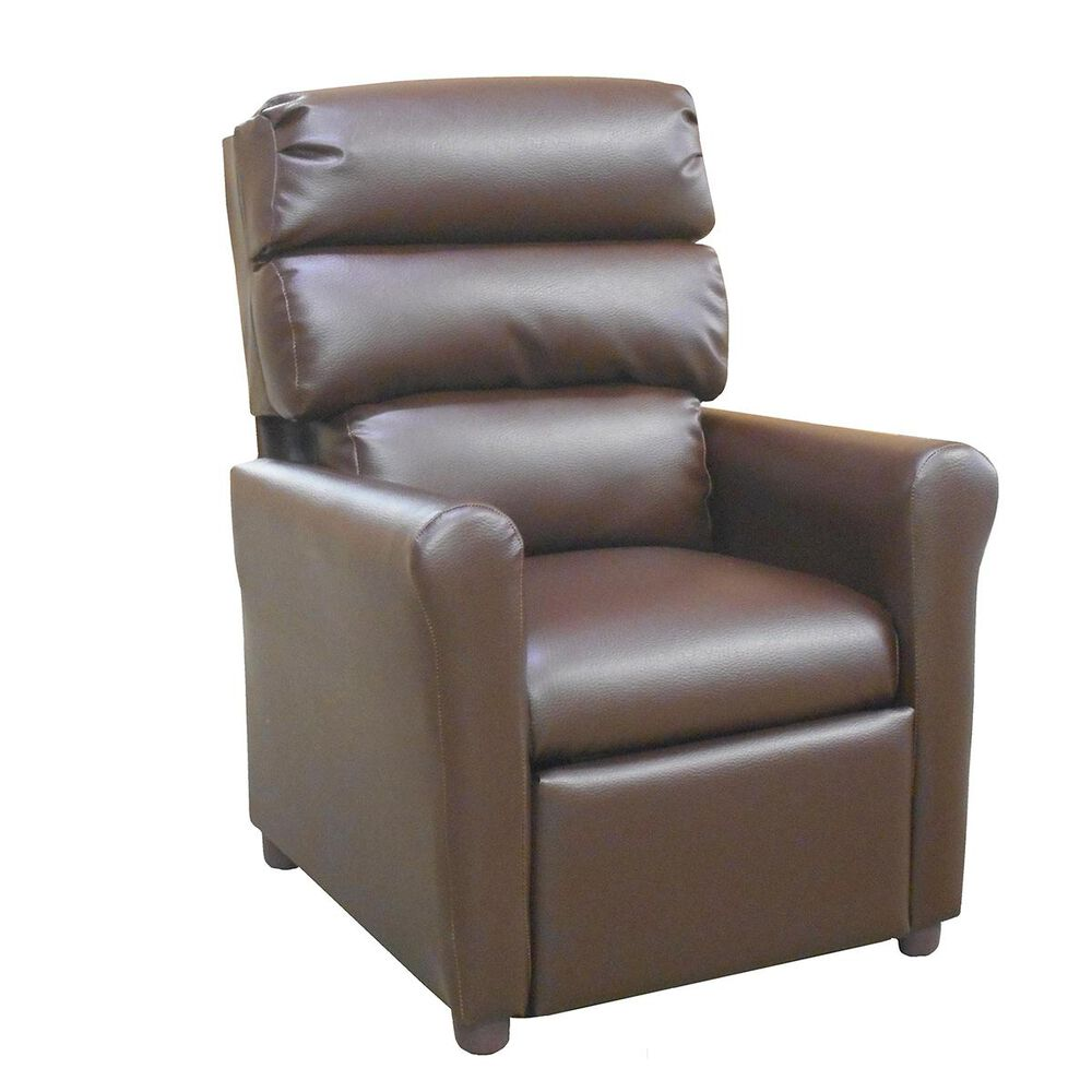 Brazil Childs Recliner in Brown, , large