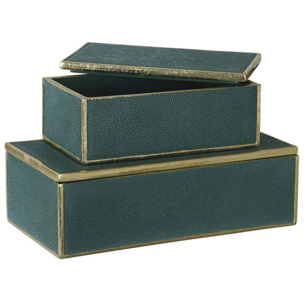 Uttermost Green Boxes - Set of 2, , large
