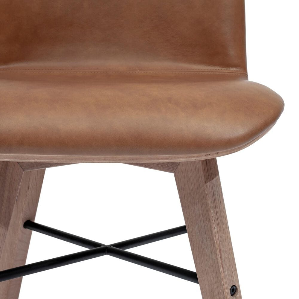 Moe's Home Collection Napoli Dining Chair in Brown (Set of 2), , large