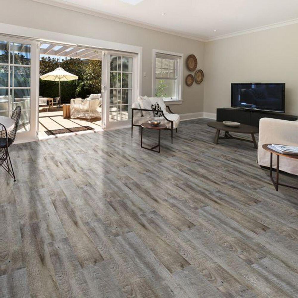 Southwind Cape Cod Grey 6 X 48 Vinyl, Gray Vinyl Flooring Living Room