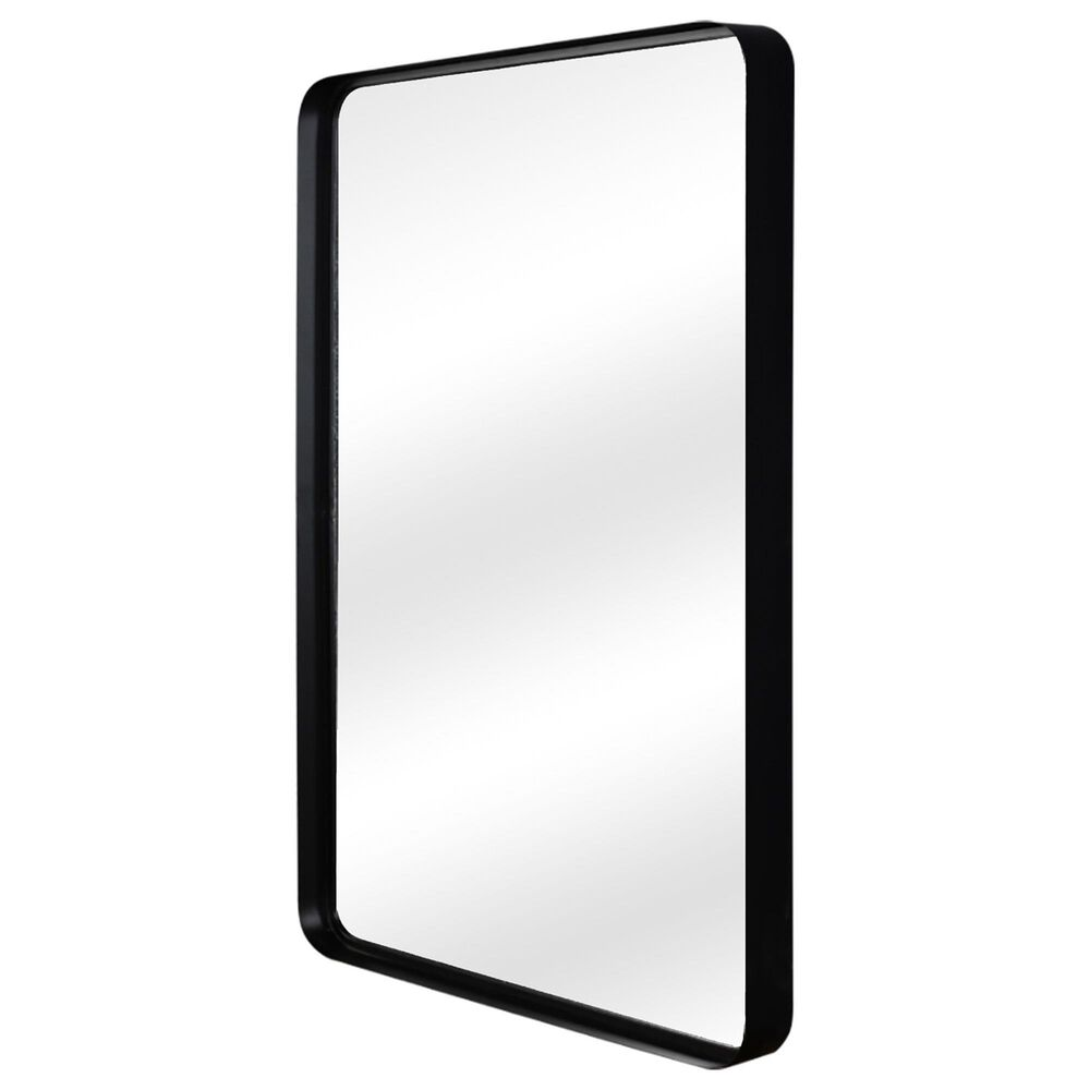 Moe's Home Collection Bishop Mirror in Black, , large