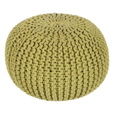 Surya Inc Malmo Sphere Pouf in Green, , large