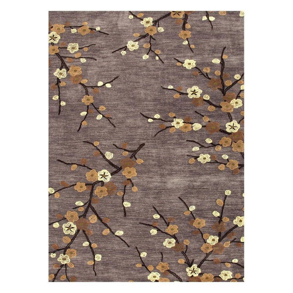 Jaipur Brio Cherry Blossom BR16 8' Round Cider and Rattan Area Rug, , large