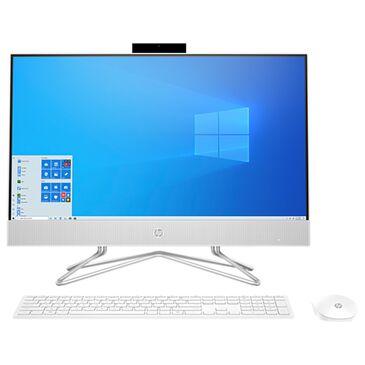 "HP 23.8"" All-In-One Desktop   AMD Athlon 3050U - 4GB RAM - AMD Radeon Graphics - 1 TB HDD in White, , large"