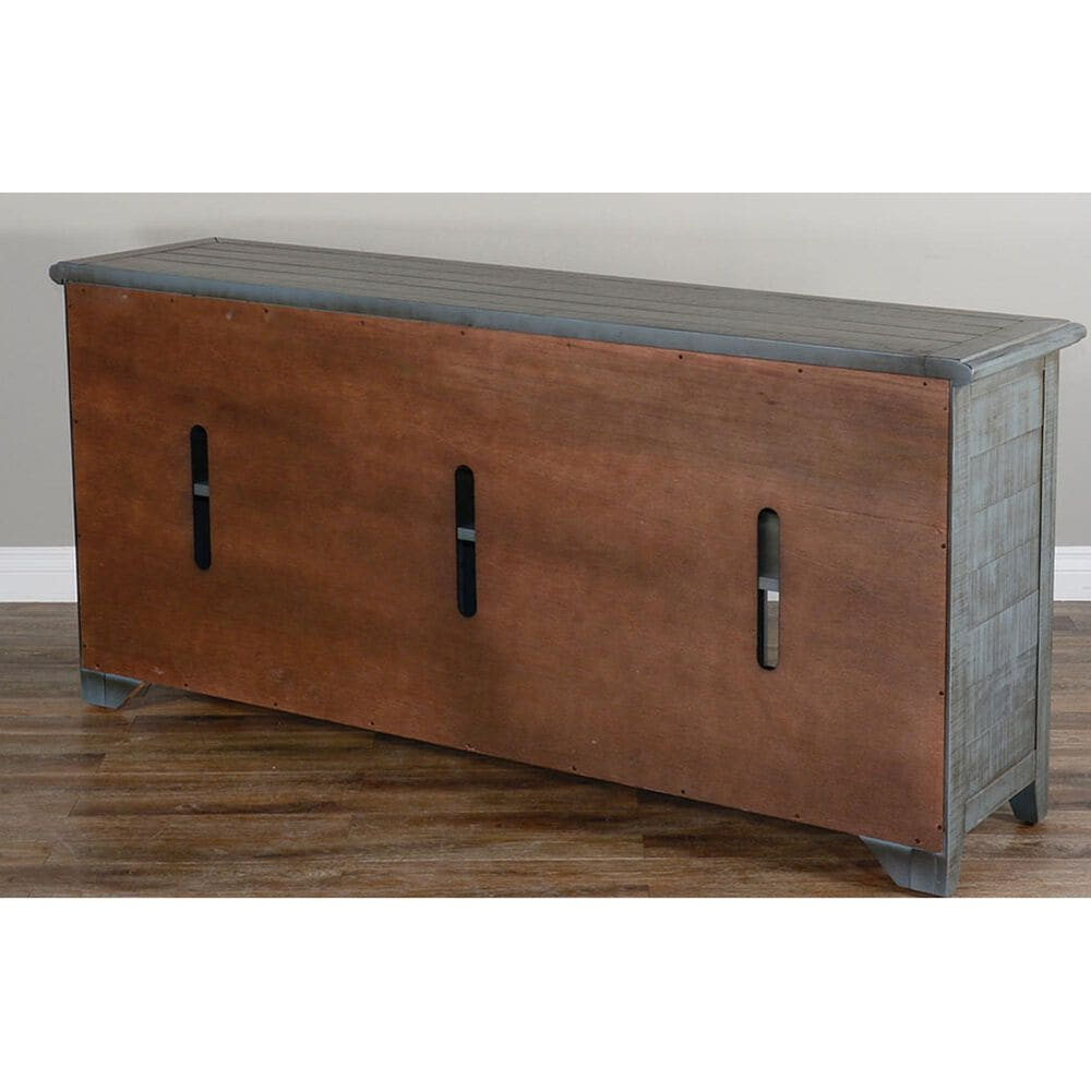 """Sunny Designs Artifax 70"""" TV Console in Little Boy Blue, , large"""
