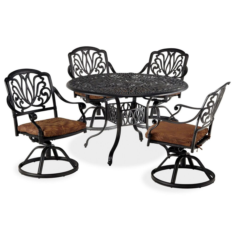 Home Styles Capri 5-Piece Dining Set in Gray, , large