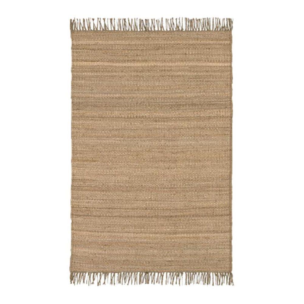 "Surya Jute Natural JUTE NATURAL 4"" x 5""9"" Wheat Area Rug, , large"