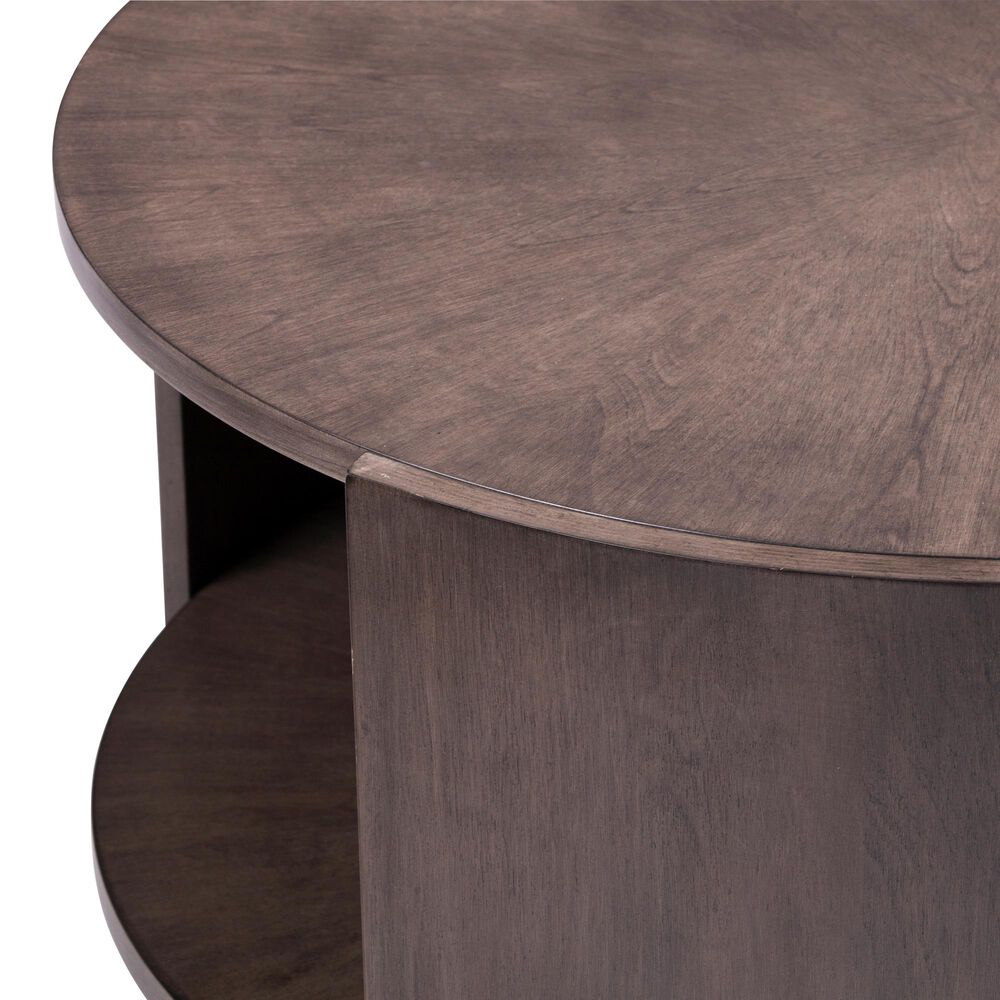 Southern Enterprises Arkendale Coffee Table in Gray and Brown, , large
