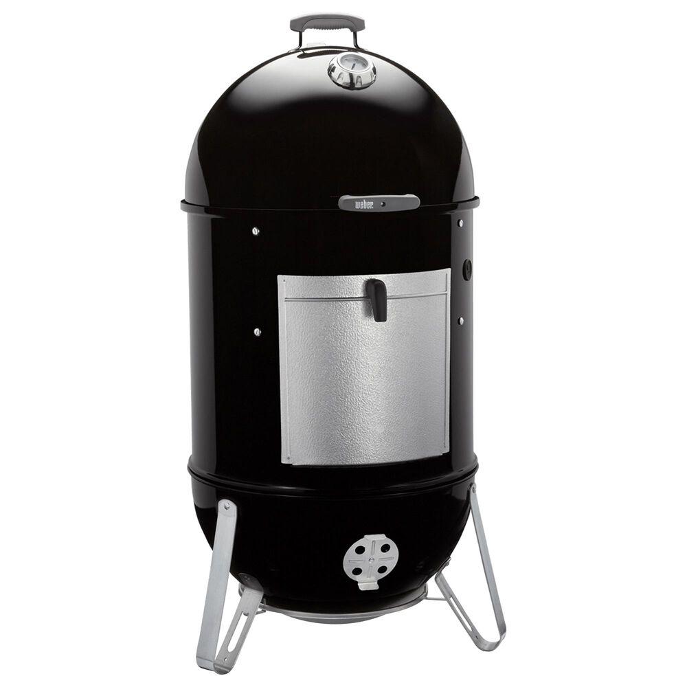 """Weber 22"""" Smokey Mountain Cooker Smoker in Black, , large"""