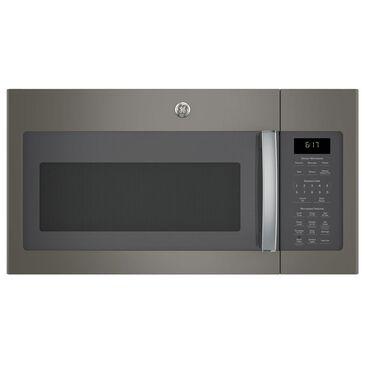 GE Appliances 1.7 Cu. Ft. Over-the-Range Microwave with Sensor in Slate, Slate, large