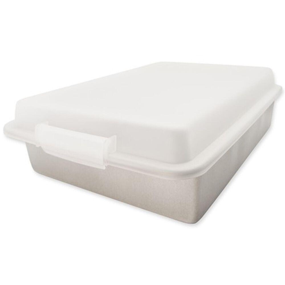 USA PAN Lasagna Pan and Lid set, , large