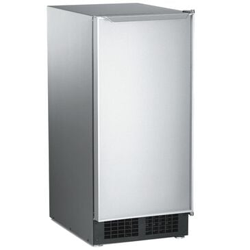 Scotsman Under-Counter Automatic Ice Machine with Gravity Drain in Stainless Steel, , large