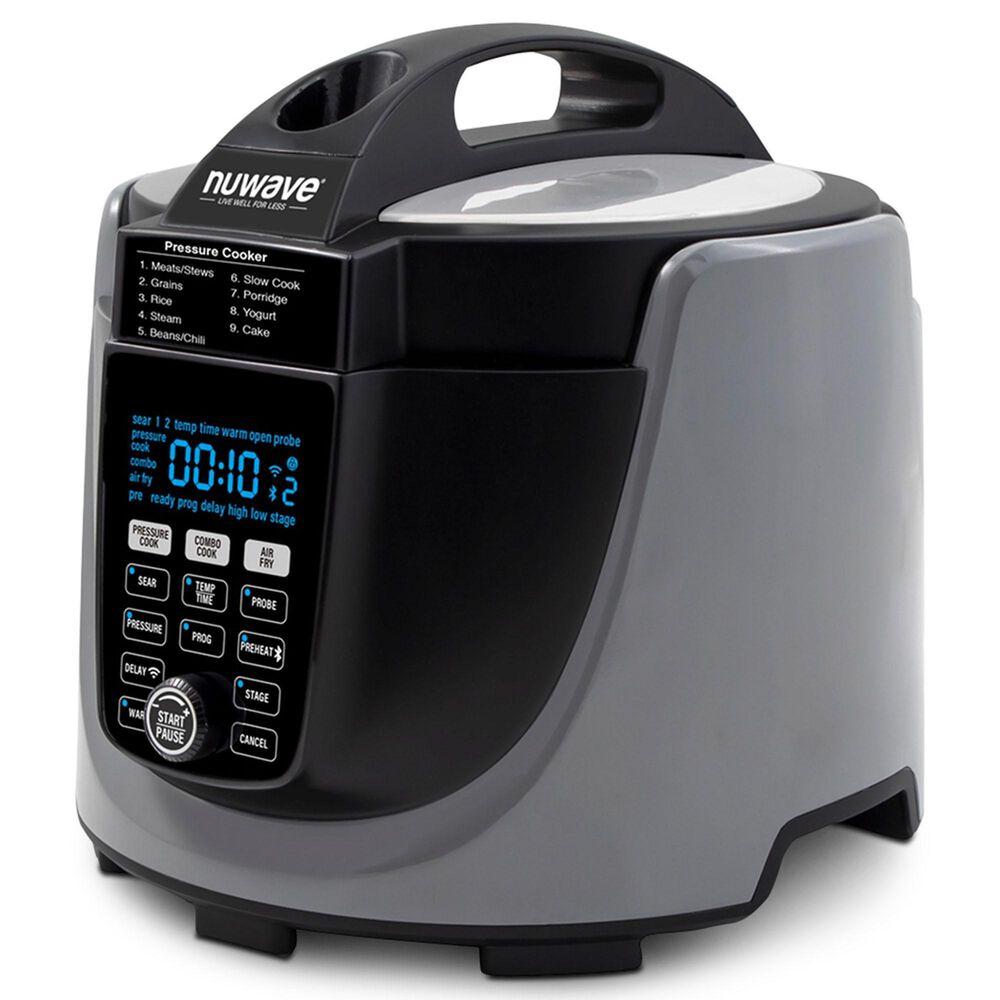 NuWave Duet Air Fryer-Pressure Cooker Combo in Gray, , large