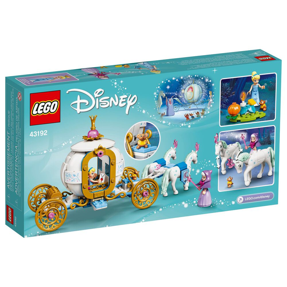 LEGO Disney Princess Cinderella's Royal Carriage Building Toy, , large