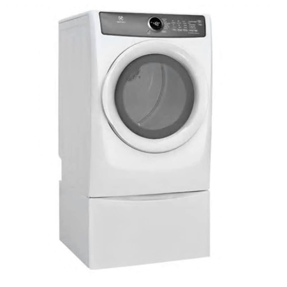 Electrolux 8.0 Cu. Ft. Front Load Perfect Steam Electric Dryer in White, , large