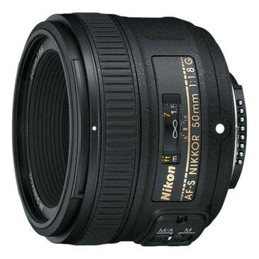 Nikon AF-S Nikkor 50mm f/1.8G Lens, , large