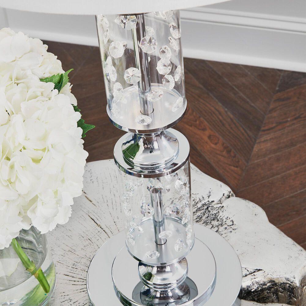 Signature Design by Ashley Laramae Metal Table Lamp in Chrome, , large