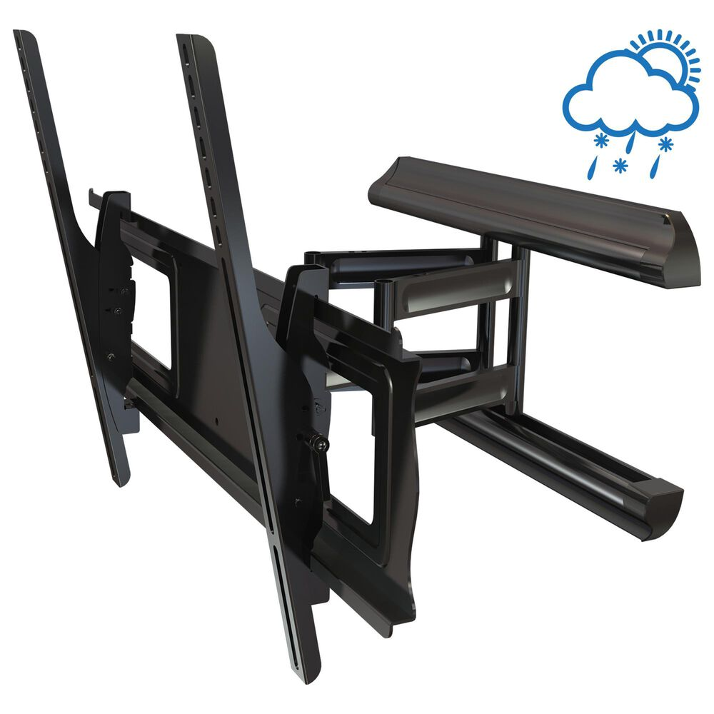 """Mustang Professional Outdoor Articulating Universal Mount for 37-70"""" Displays in Black, , large"""