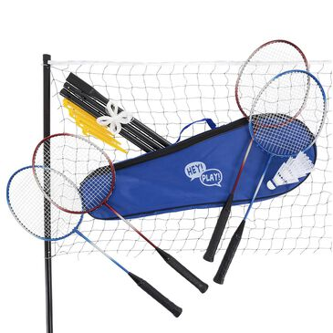 Timberlake Hey! Play! 9 Piece Badminton Outdoor Set, , large