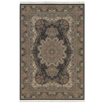 "Oriental Weavers Masterpiece 5501K 7'10"" x 10'10"" Black Area Rug, , large"