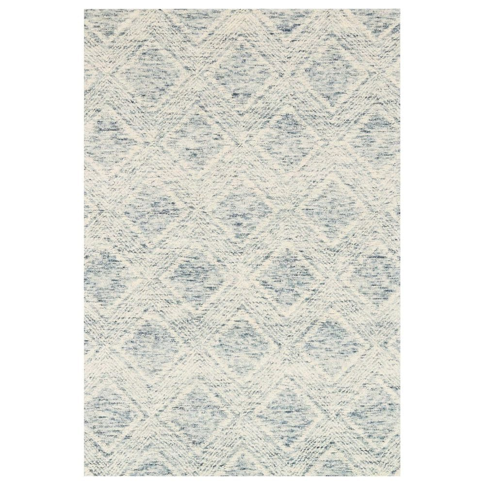"""ED Ellen DeGeneres Crafted by Loloi Kopa 7'9"""" x 9'9"""" Denim and Ivory Area Rug, , large"""
