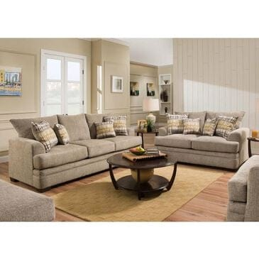 Southaven Loveseat and Sofa in Perth Pewter , , large