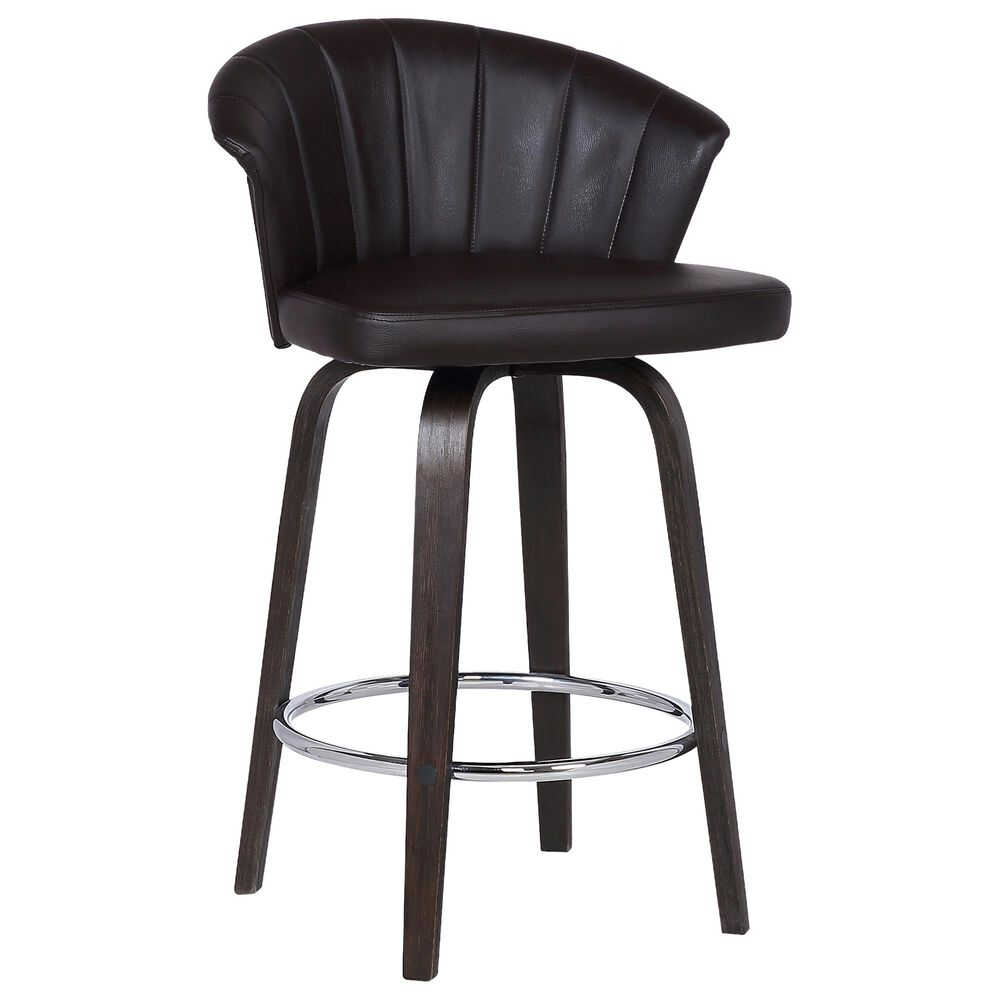 """Blue River Ashley 26"""" Swivel Barstool in Brown, , large"""