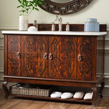 "James Martin Palm Beach 48"" Single Vanity Cabinet in Dark Amber, , large"