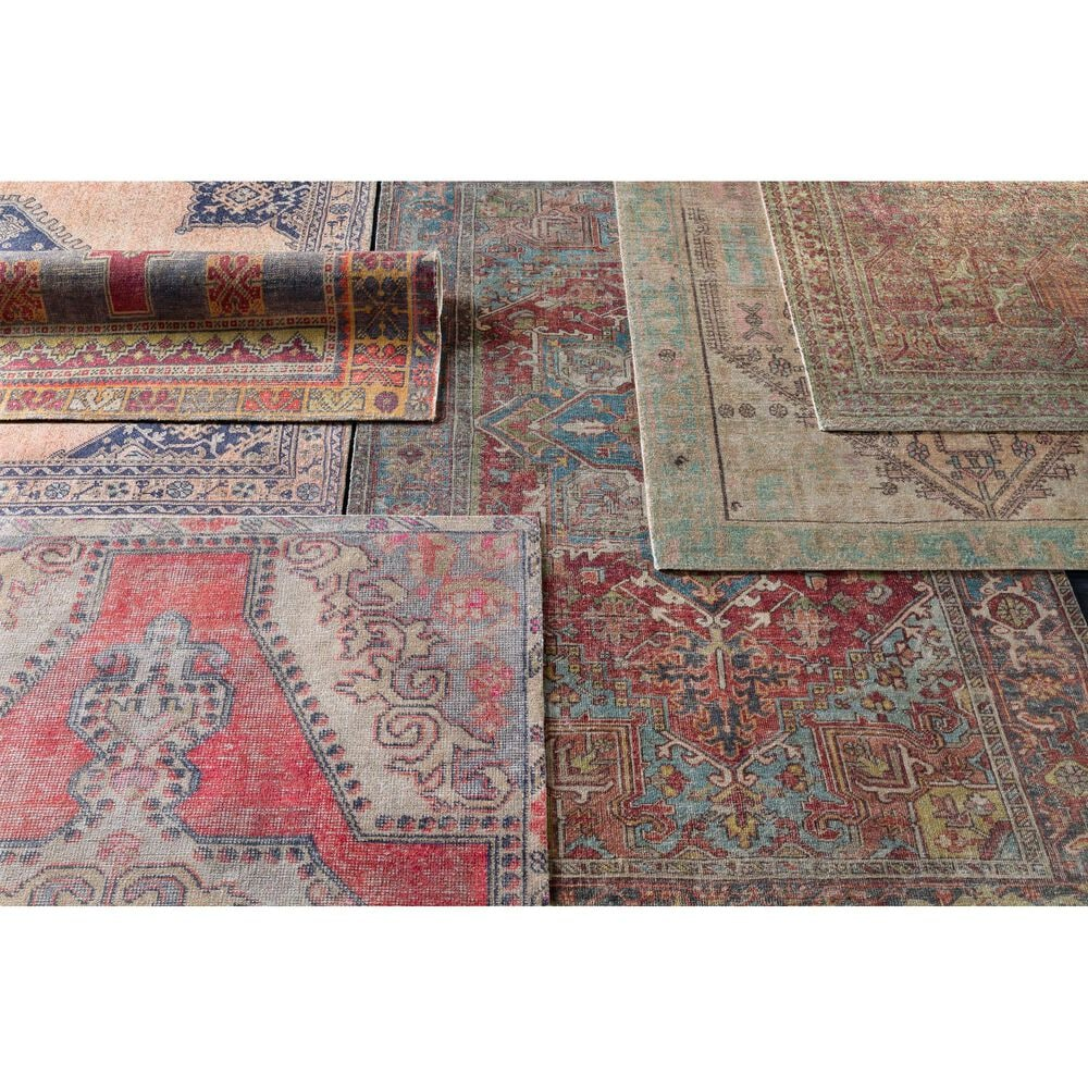 """Surya Unique UNQ-2315 8'6"""" x 11'6"""" Coral, Gray and Wheat Area Rug, , large"""