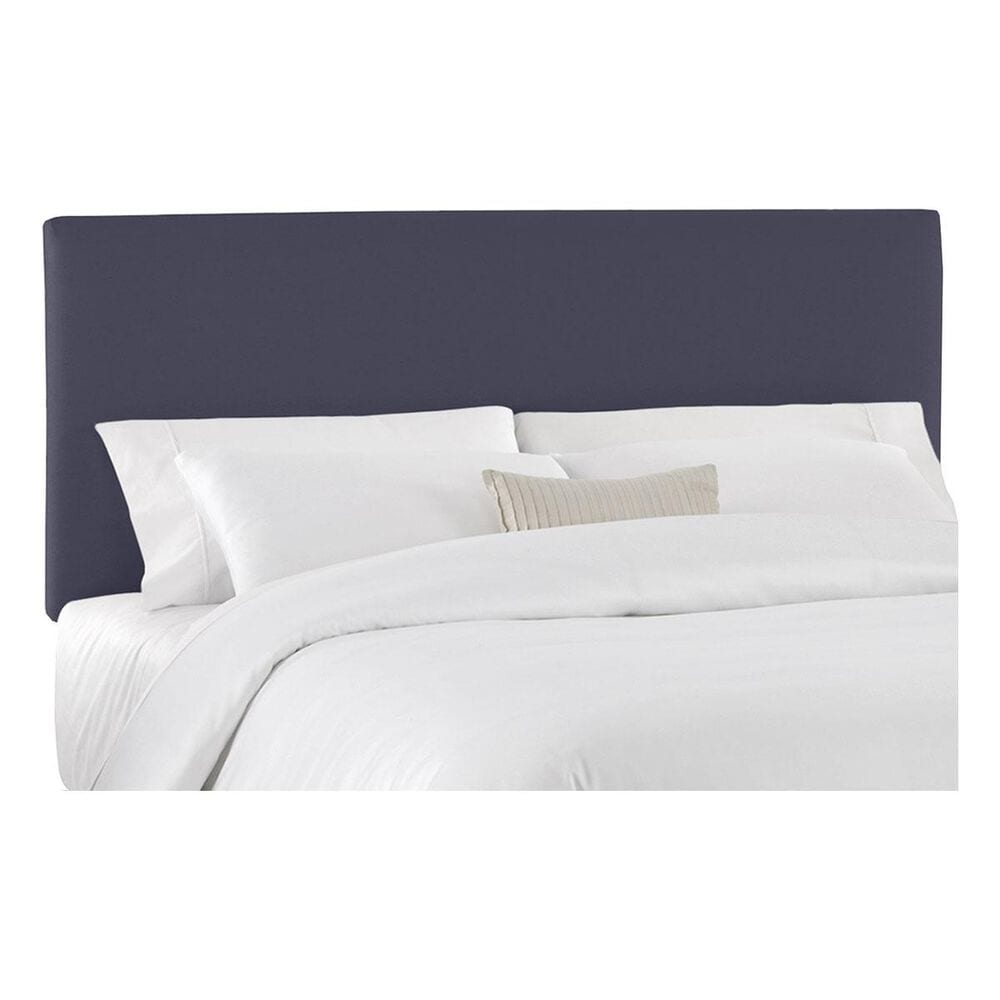 Skyline Furniture Twin Upholstered Headboard in Twill Navy, , large