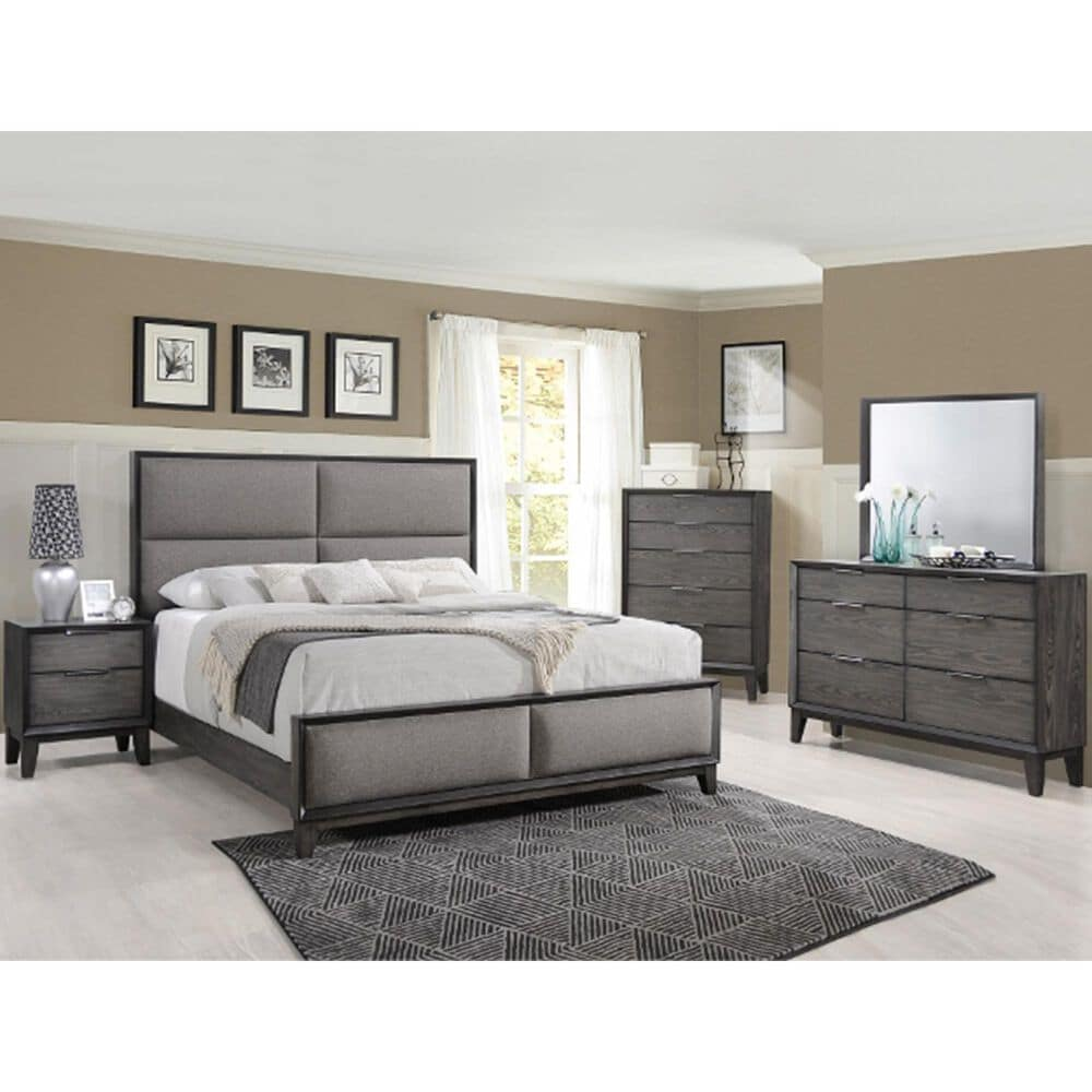 Claremont Florian Chest in Gray, , large