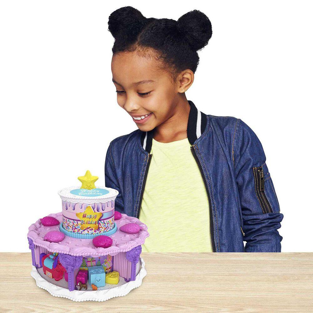 Polly Pocket Birthday Cake Countdown Playset, , large