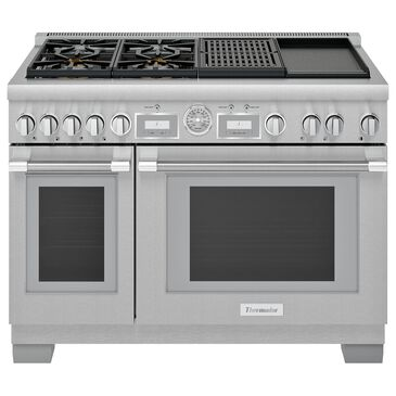 """Thermador 48"""" Pro Grand Dual Fuel Range with 4 Burners in Stainless Steel, , large"""