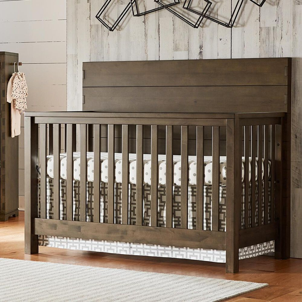 Eastern Shore Dovetail 2 Piece Nursery Set in Graphite, , large