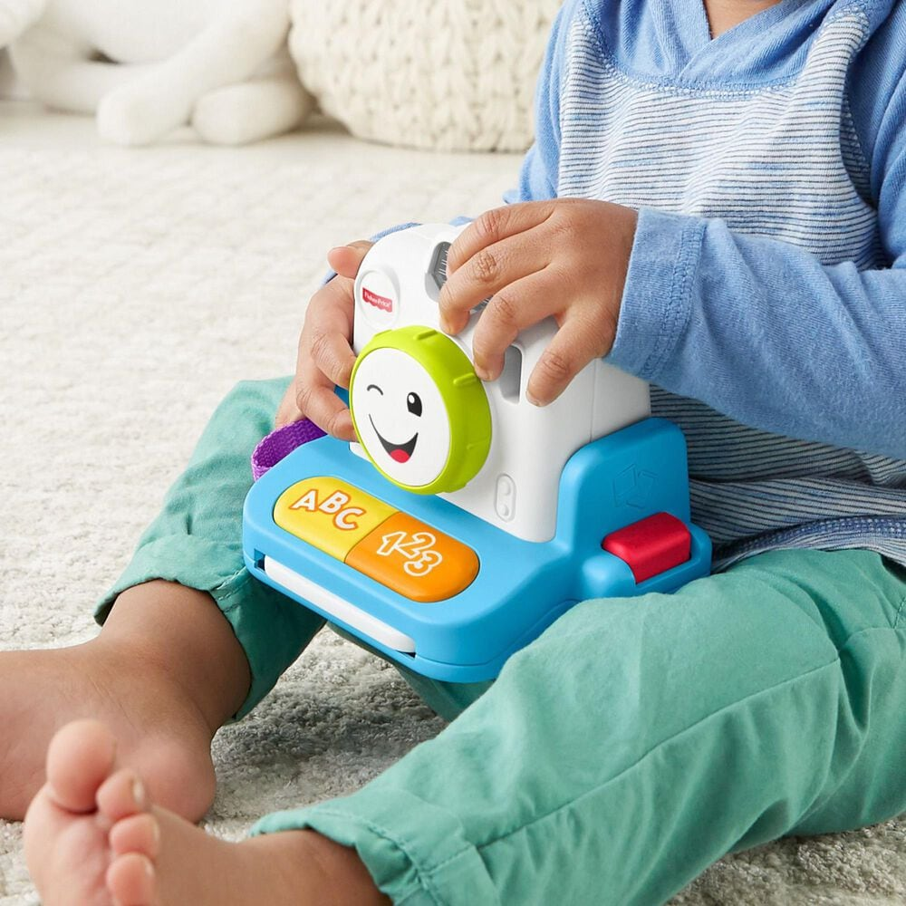 Fisher-Price Laugh and Learn Instant Camera, , large