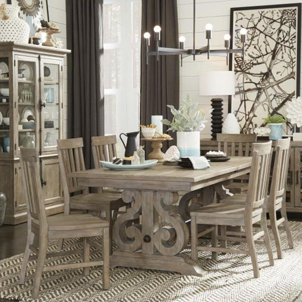 Nicolette Home Tinley Park Dining Table in Dove Tail Grey - Table Only, , large