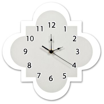 Trend Lab LLC Dove Gray Wall Clock, , large