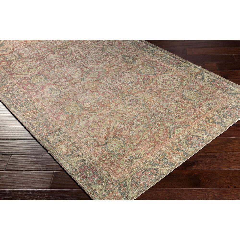"""Surya Unique UNQ-2303 8'6"""" x 11'6"""" Olive, Teal and Rust Area Rug, , large"""