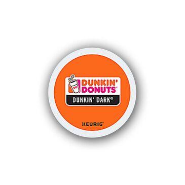 Keurig Dunkin Donuts Dark Roast Coffee, , large