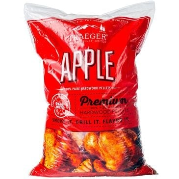Traeger Grills Apple BBQ Hardwood Pellets - 20 lb Bag, , large