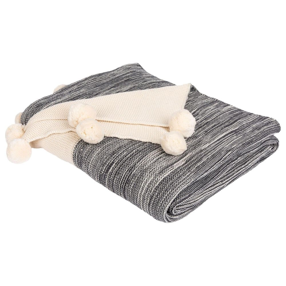 """Safavieh Orie 50"""" x 60"""" Throw in Gray and Natural, , large"""