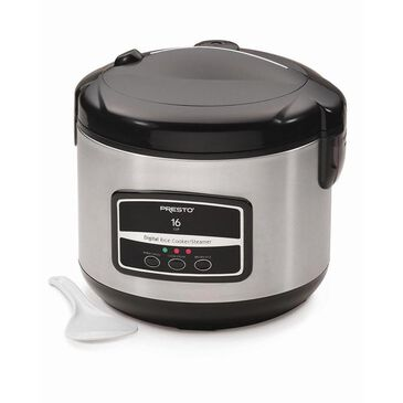 Presto Rice Cooker, 16-cup Digital, , large