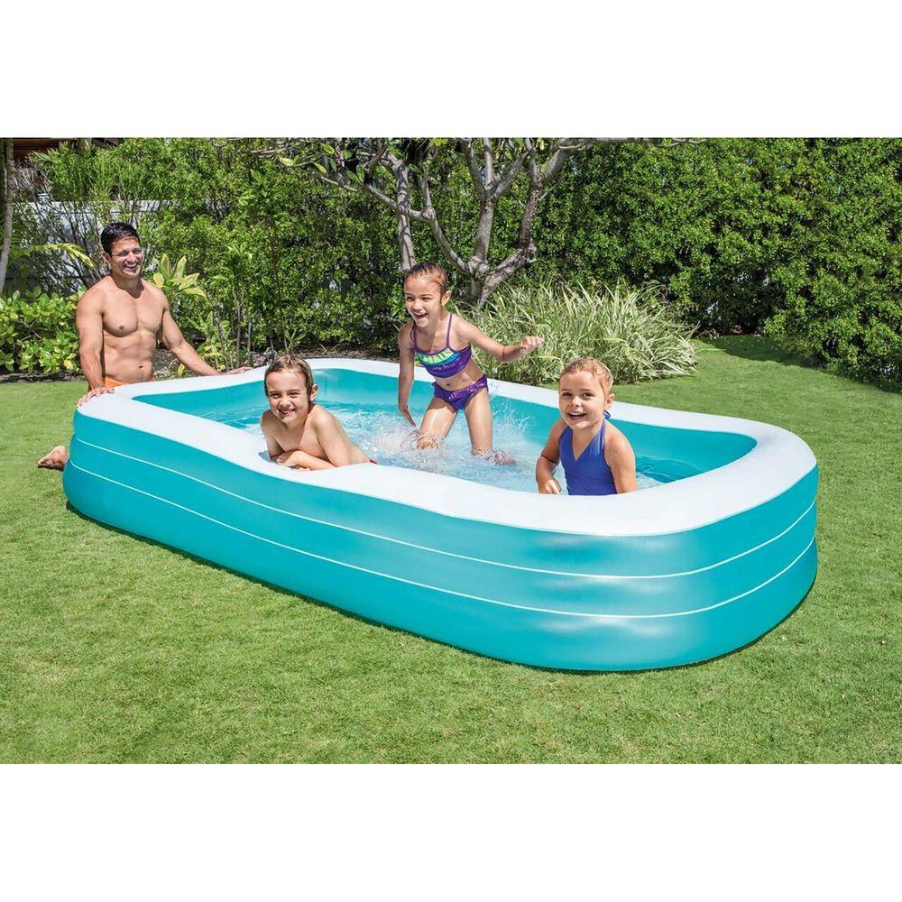 Intex Swim Center Family Pool in Blue, , large