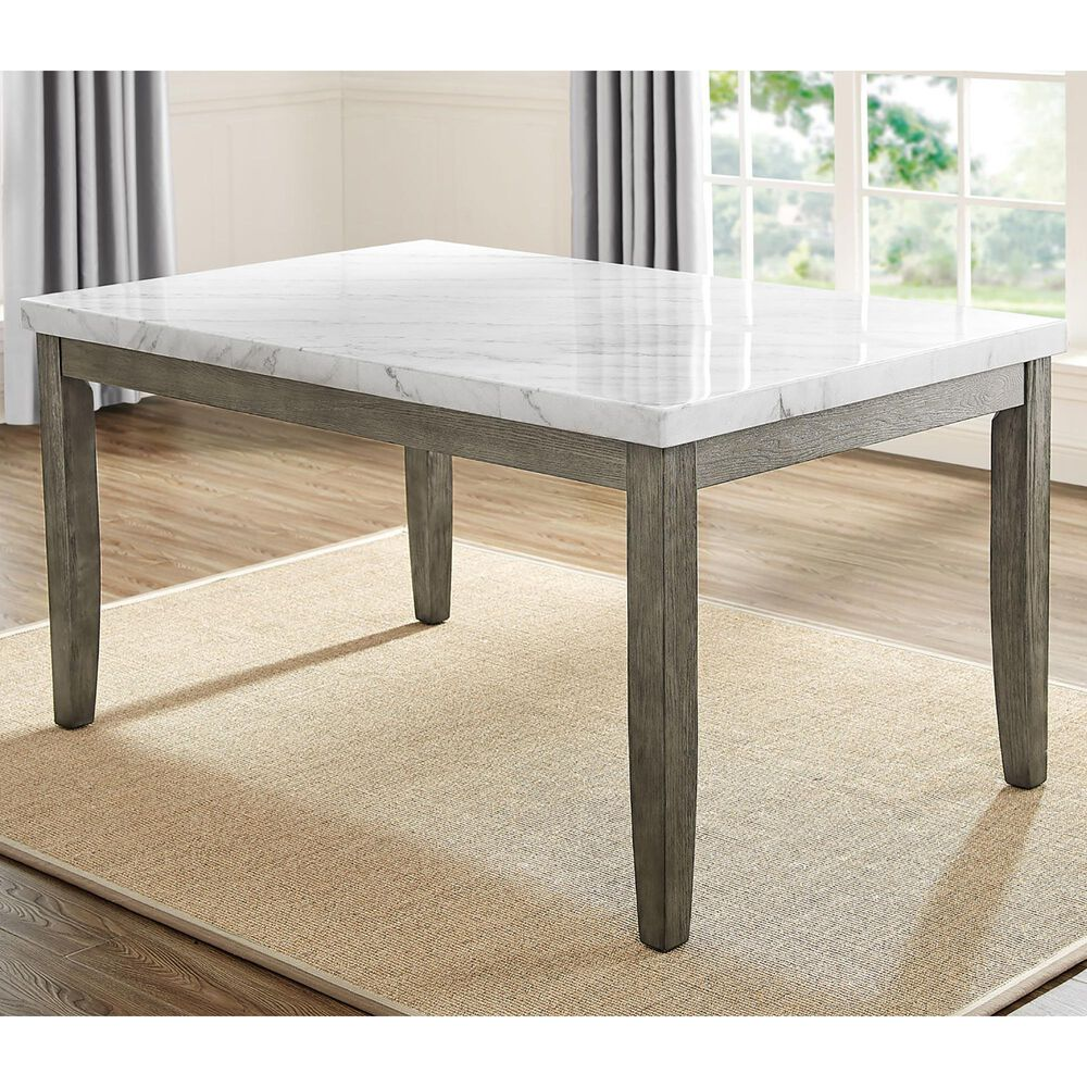 Steve Silver Emily Dining Table in Mossy Grey, , large