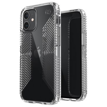 Speck Presidio2 Grip Case For Apple iPhone 12 Mini in Perfect Clear, , large