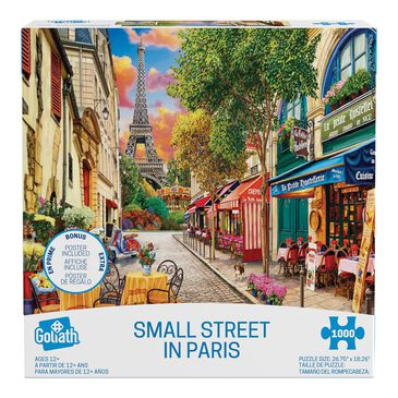 Goliath Games Image World Puzzles - Small Street in Paris, , large