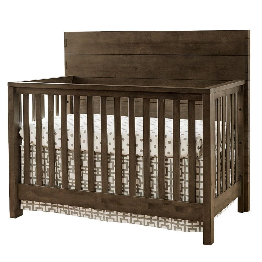 Eastern Shore Dovetail Convertible Crib in Graphite, , large