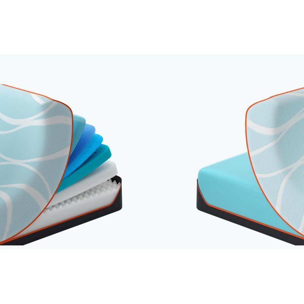 Tempur-Pedic TEMPUR-LUXEbreeze Firm Twin XL Mattress with Low Profile Box Spring, , large