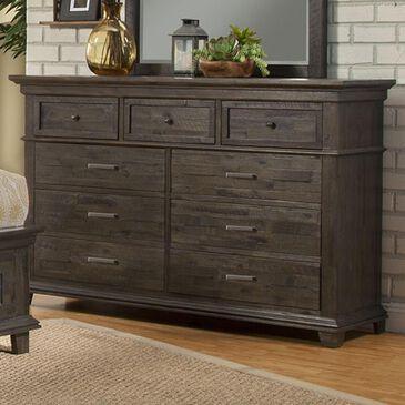 Alpine Furniture Newberry Dresser in Salvaged Grey, , large