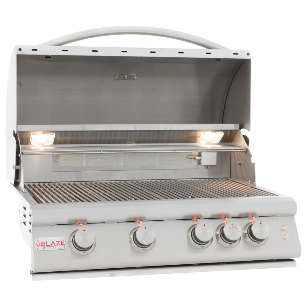"""Blaze 32"""" LTE Liquid Propane Grill with 4-Burner in Stainless Steel, , large"""